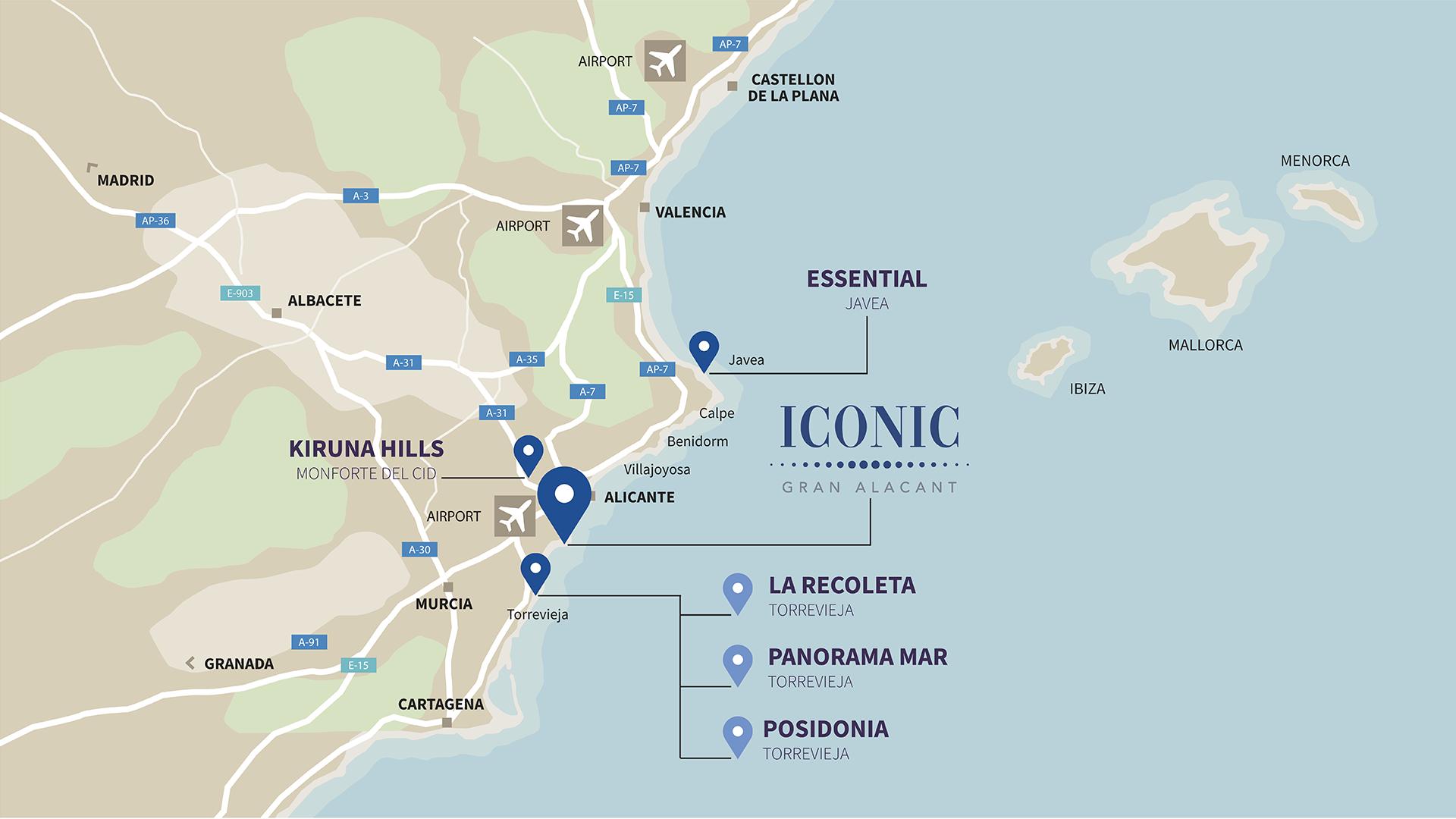 Mapa ICONIC eng