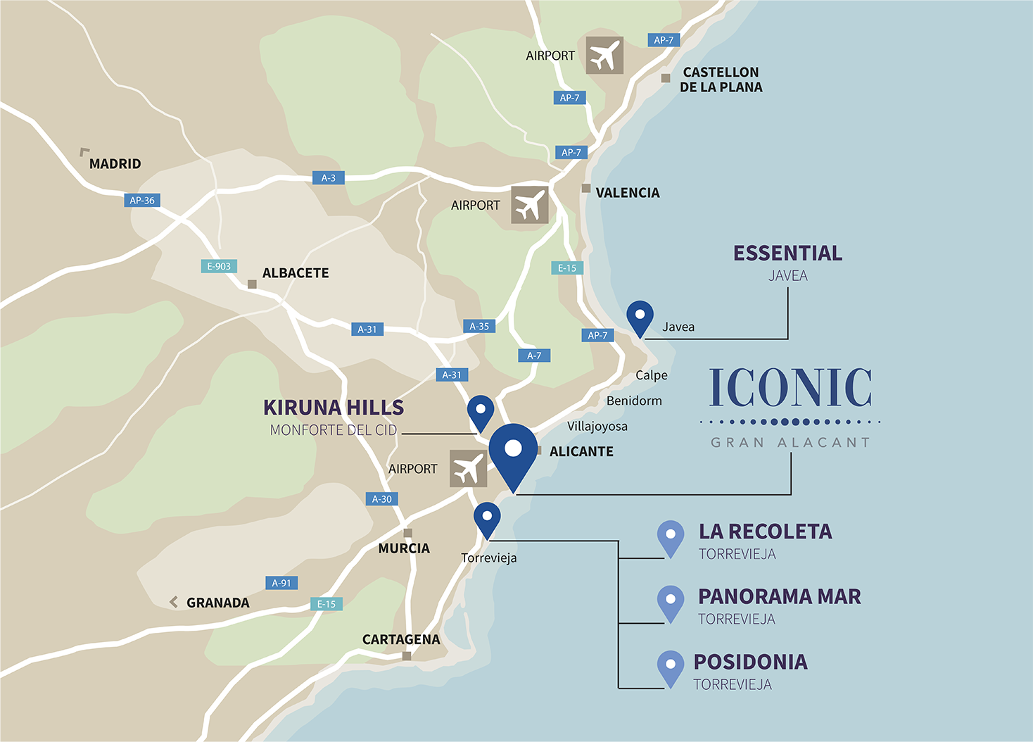 Mapa ICONIC movil eng